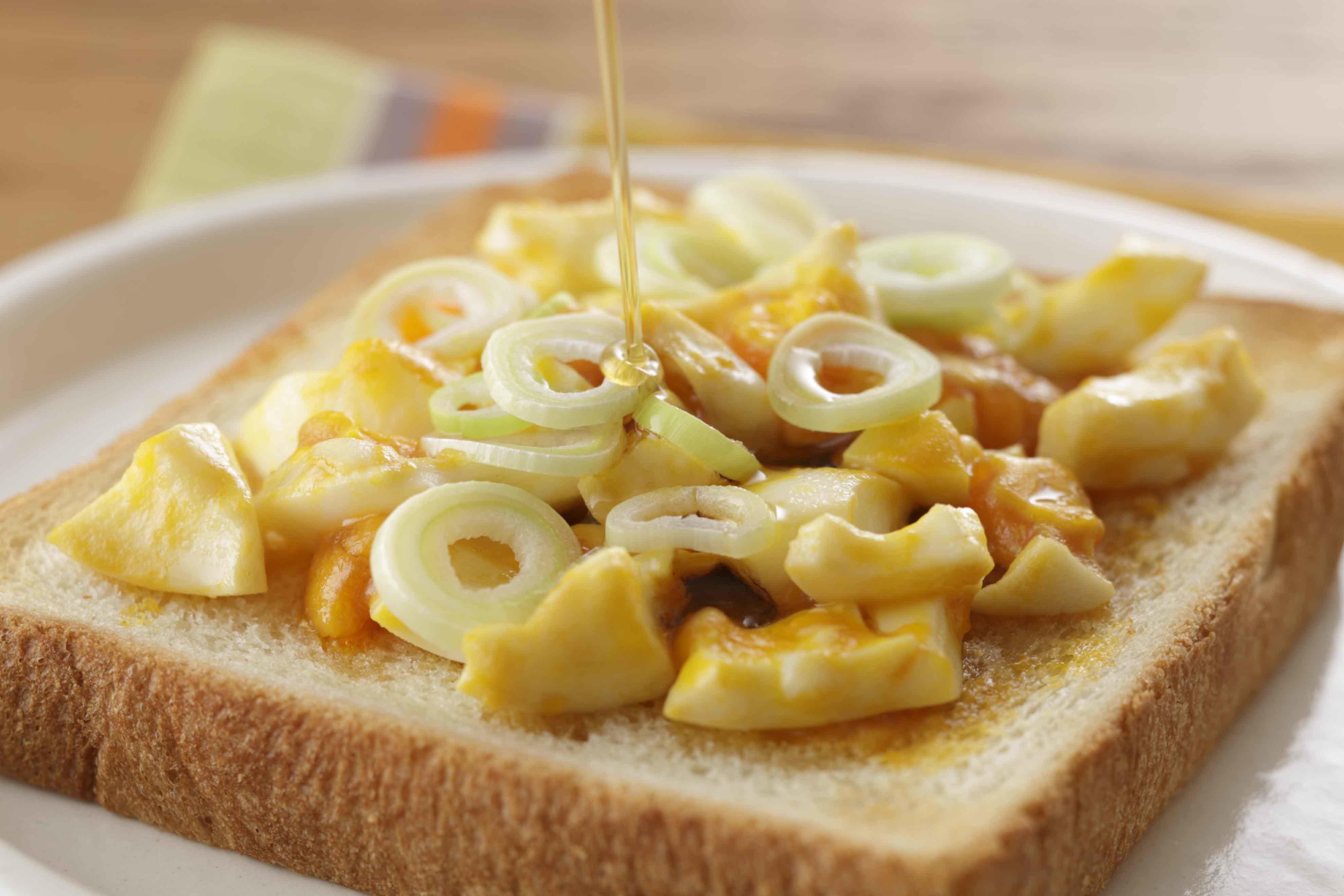 ごま卵トースト