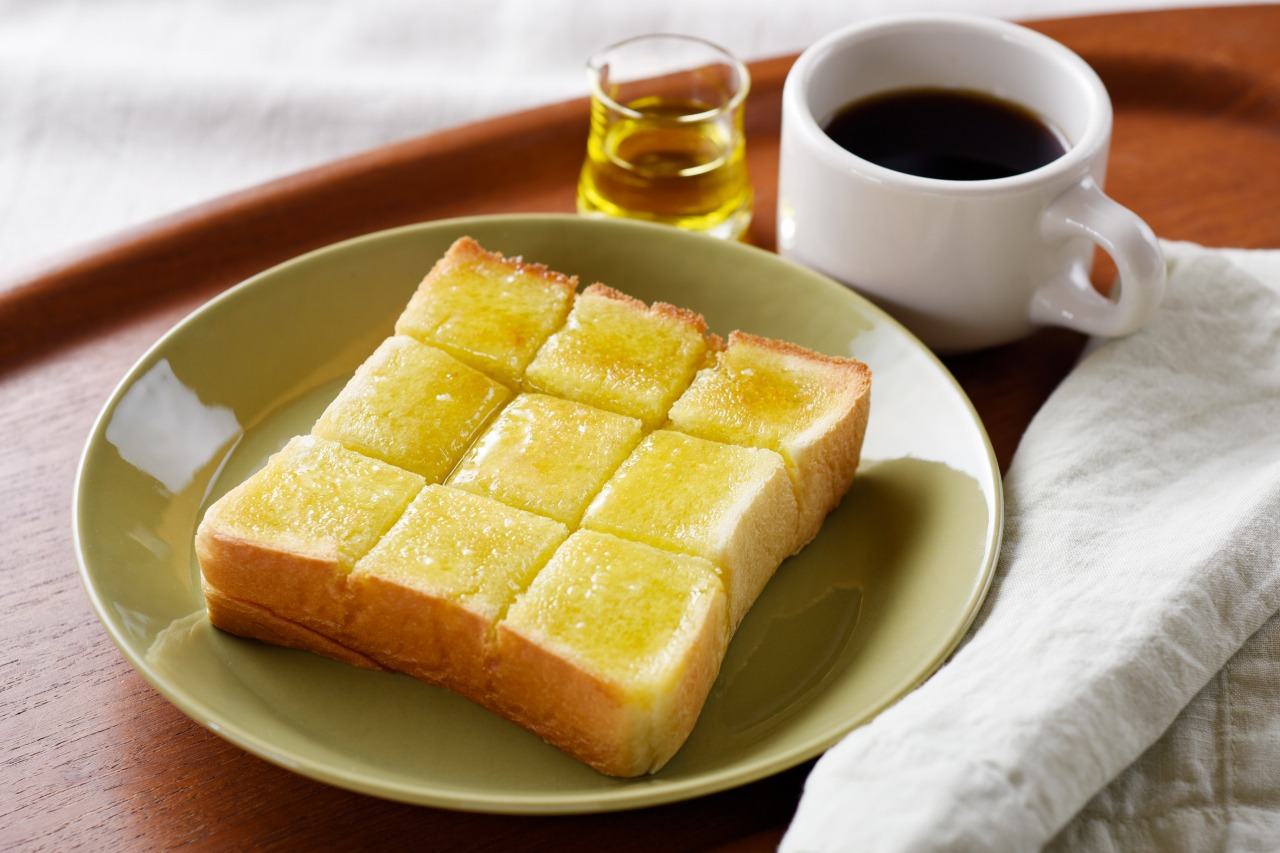 塩オリーブオイルトースト