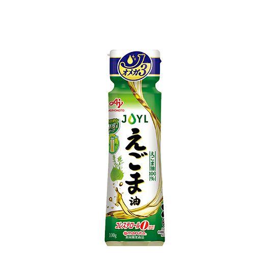 「AJINOMOTO えごま油」 100g鮮度キープボトル