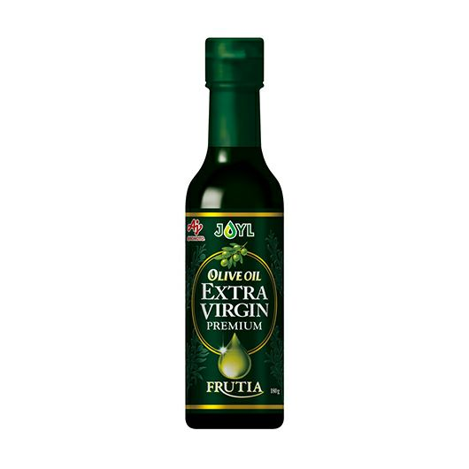 AJINOMOTO オリーブオイルエクストラバージン FRUTIA PREMIUM 180g瓶