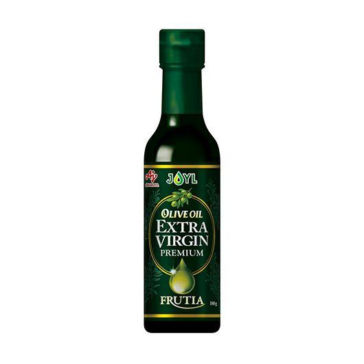 「AJINOMOTO オリーブオイルエクストラバージン FRUTIA PREMIUM」 180g瓶