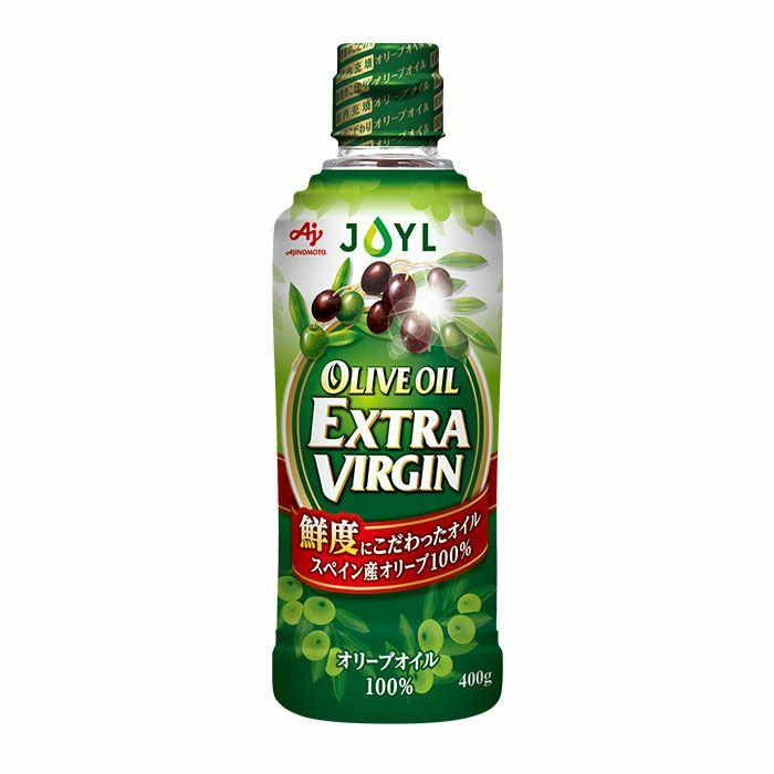 「AJINOMOTO オリーブオイルエクストラバージン」 400g瓶
